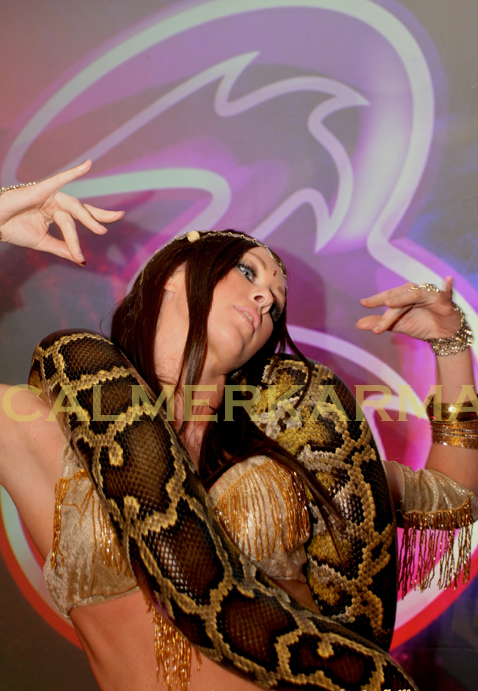 SNAKE DANCERS TO HIRE LONDON, MANCHESTER, BIRMINGHAM, UK