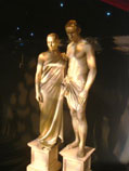 Statues-Classical-Roman-themed