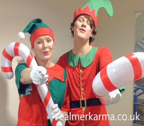 THE SINGING ELVES - CHRISTMAS ENTERTAINMENT TO HIRE
