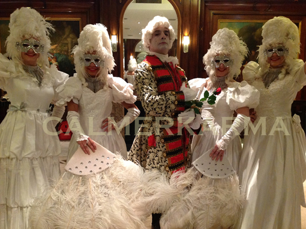 Venetian Masked Ball & Masquerade Themed Corporate Entertainment ...
