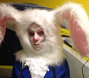 WHITE RABBIT - EASTER& SPRING THEMED ENTERTAINMENT