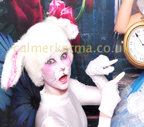alice in wonderland themed entertainment - WHITE-RABBIT-DANCER-ALICE-IN-WONDERLAND-PARTY-ACTS