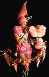 Willy Wonka themed entertainment - Couture Candy Girls Miss Candyfloss