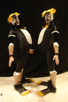 WINTER WONDERLAND THEMED ENTERTAINMENT - ACROBATIC PENQUINS ACT