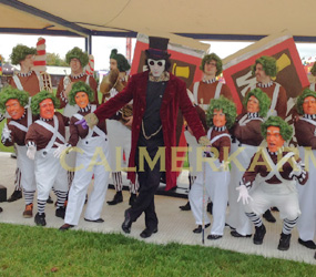 WILLY WONKA THEMED ENTERTAINMENT AND ACTS TO HIRE