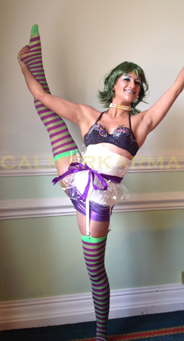 WILLY WONKA THEMED ACROBATS + CONTORTIONIST ACTS -UK